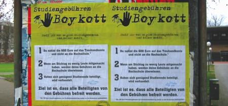 Boykottplakate