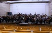 Das Collegium Musicum bei Konzertproben