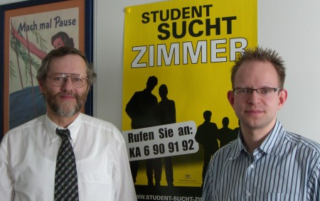 Hartmut Kurz und René Stephan