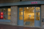 ABA art Galerie bei Nacht