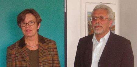 Frau Steinbach und Günter Hartard