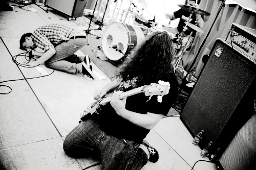 &quot;Kaishakunin&quot; am 27.06.09 am &quot;New Noise Festival&quot; in Durmersheim (Foto: Michael Gebhardt)