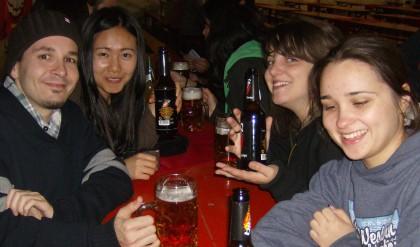 Workcamp-Gruppe auf der Kirmes in Bedheim