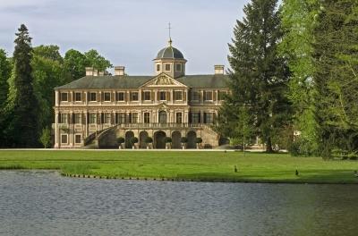 Rastatt-Förch: Schlosspark Favorite, Schloss 2006