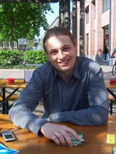 Hauke Löffler war schon zu Gast beim ZDF und hält Vorträge bei der dpa über das Projekt Stadtwiki.